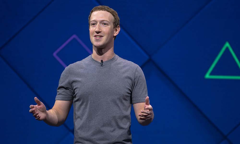 Facebook Founder and CEO, Mark Zuckerberg