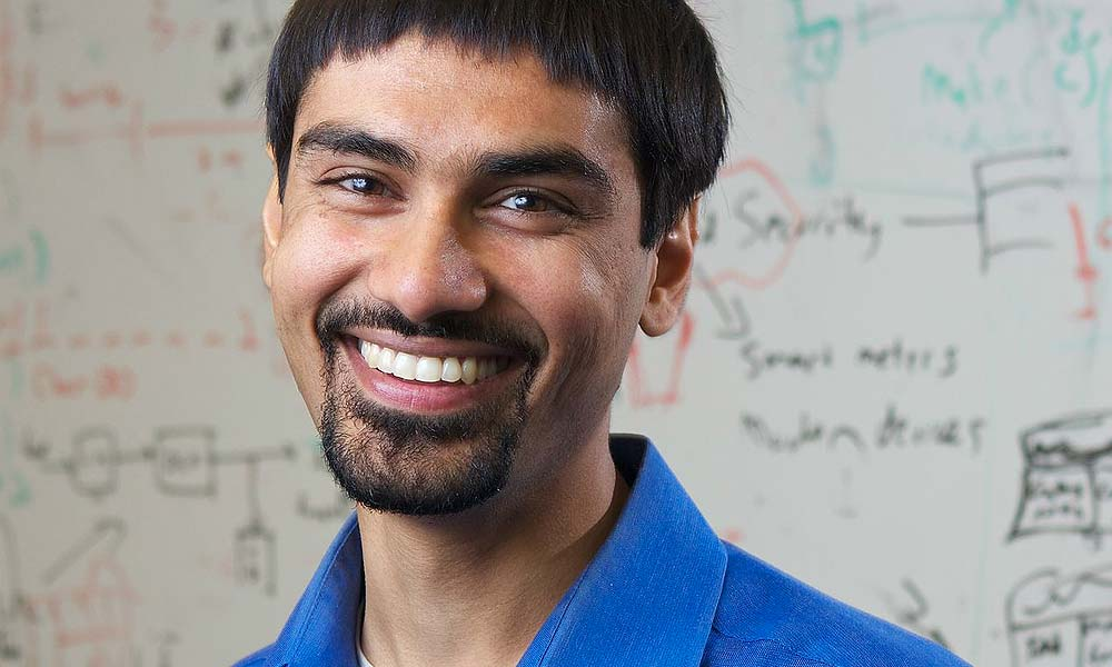 Shwetak Naran Patel is an American computer scientist and entrepreneur. - Photo courtesy University of Washington