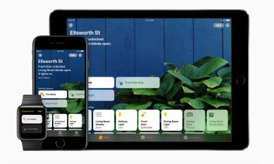 Apple HomeKit allow users to communicate with, and control, connected accessories in their home using an app. Photo courtesy Apple