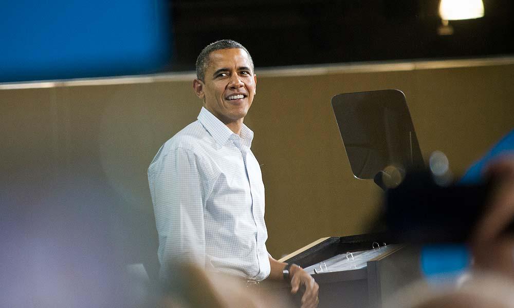 Barack Obama. - Photo by Pete Prodoehl