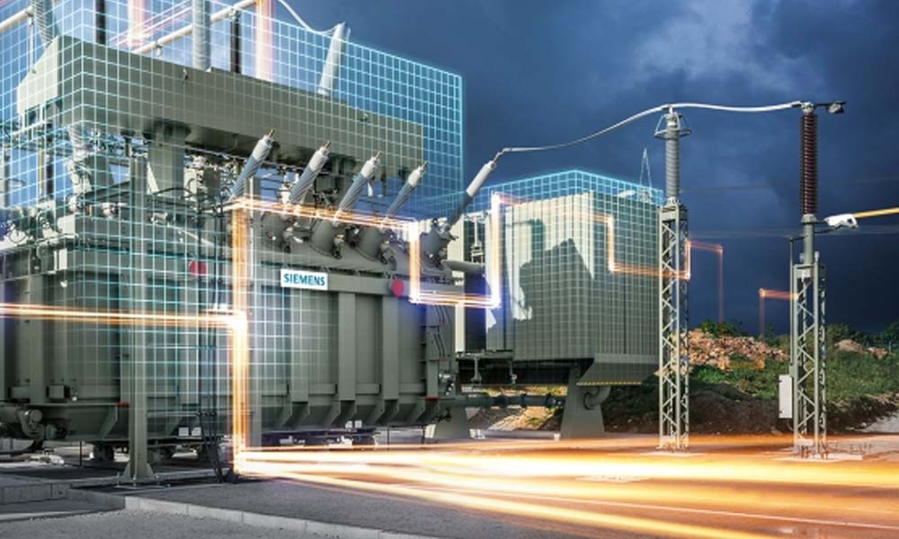 In the event of power outage the installation of a mobile transformer allows safe and reliable grid connection, restoring power within one day. - Photo courtesy Siemens