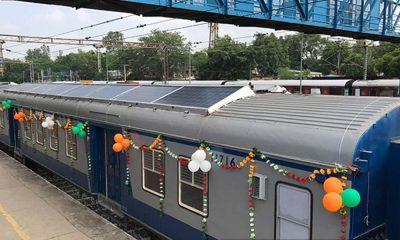 Solar trains. - Photo handout