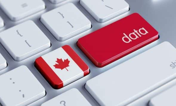 Canada data concept, DepositPhotos