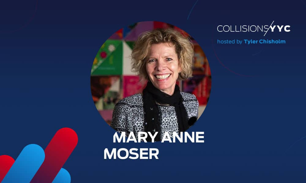 Mary Anne Moser is President and CEO of TELUS Spark Science Centre