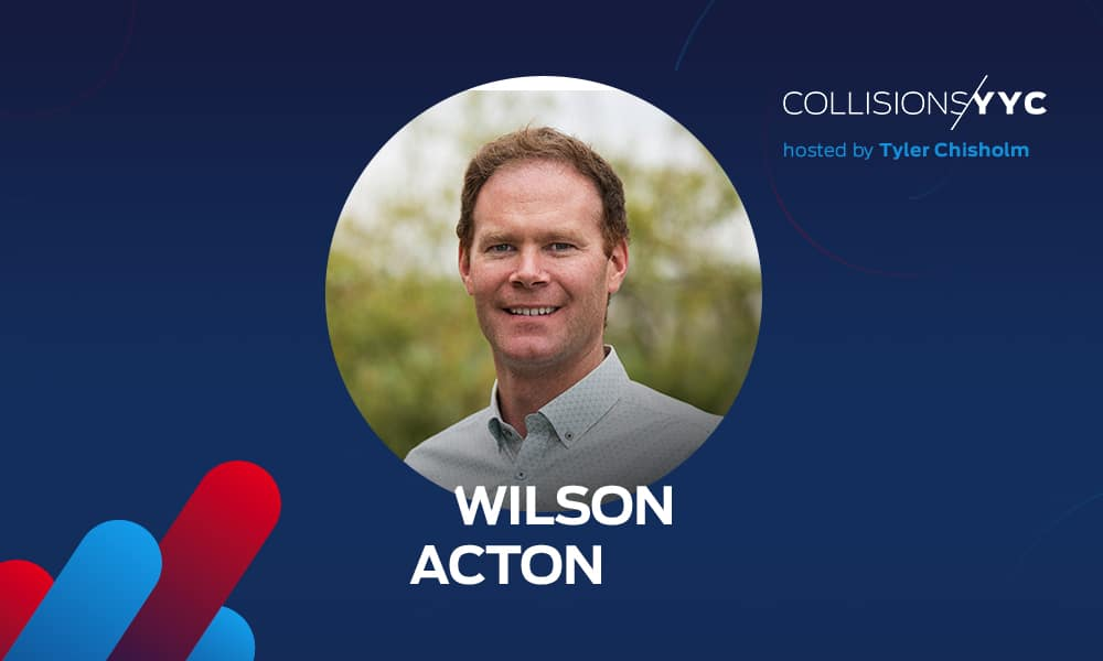 Wilson Acton is Chief Commercial Officer at AgTech startup Verge